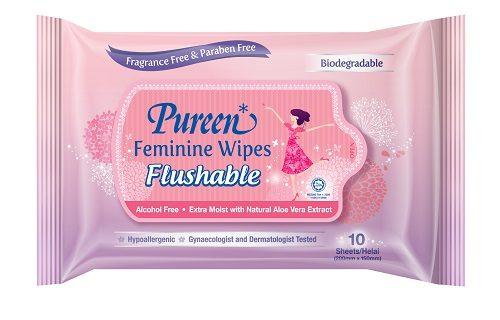 Feminine Wipes Flushable