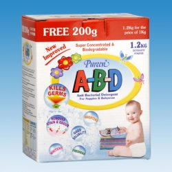 Anti Bacterial Powder Detergent (A-B-D)