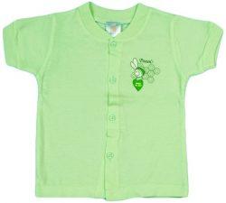CVC Single Jersey Short Sleeves Front Open Vest