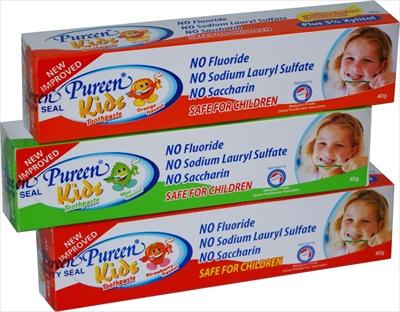 Kids Toothpaste (Fluoride Free)