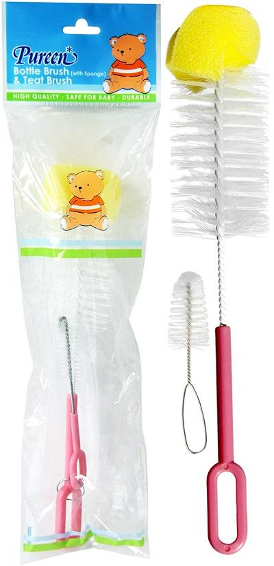 Nursery Brush With Sponge Tip (NBY 06)