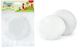 Premium Washable Breast Pad 2's Without Lace (PAD-W01)