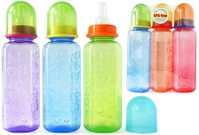 Promo Pack - 3 x 8oz 123 Bottles (BAF 009)