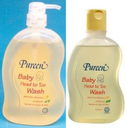 Baby Head To Toe Wash with Pro-Vitamin B5 & Vitamin E