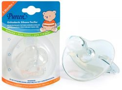 Silicone Orthodontic Pacifier (NS P02)